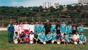 C.S. Sagesse Lebanon football (soccer) team picture