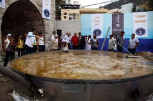 Lebanese Kibbeh in Guinness Book - Joseph Barrak