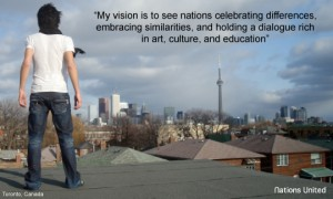 Chaker Khazaal's Nations United Vision - www.nationsunited.org