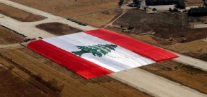 World's Largest Flag by Lebanon - EPA